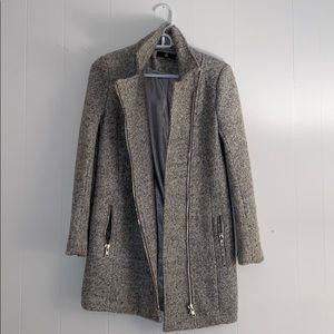 Marled Grey Coat